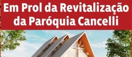 Paróquia do Cancelli pede ajuda para concluir obras
