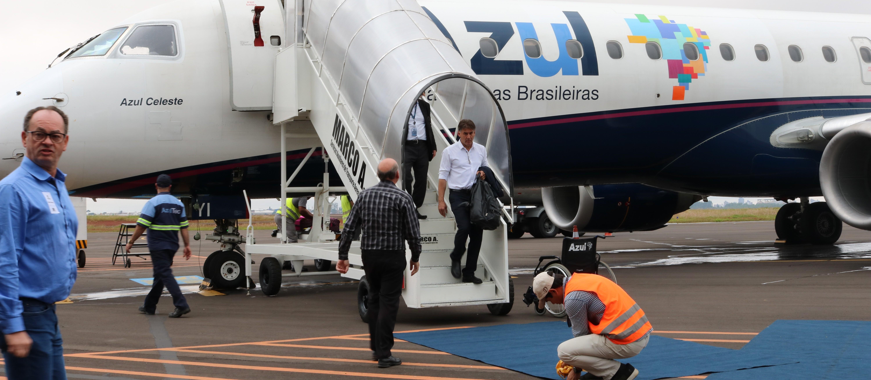 A partir de 5 de agosto Cascavel terá novos voos