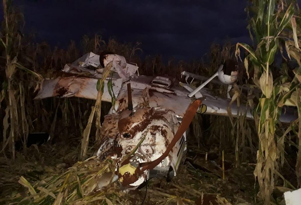 Força Aérea Brasileira investiga queda de avião em Cascavel
