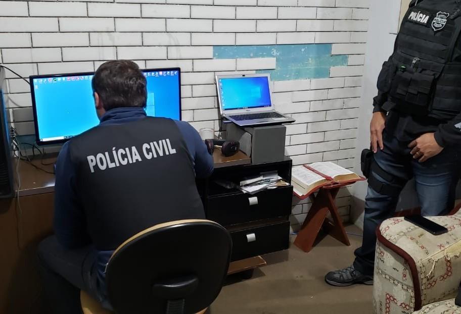 Polícia cumpre mandados em operação contra a pedofilia