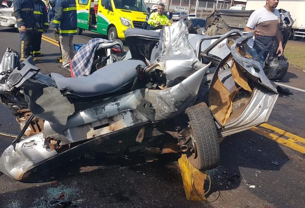 Polícia Civil investiga acidente que resultou em três vítimas fatais em Cascavel
