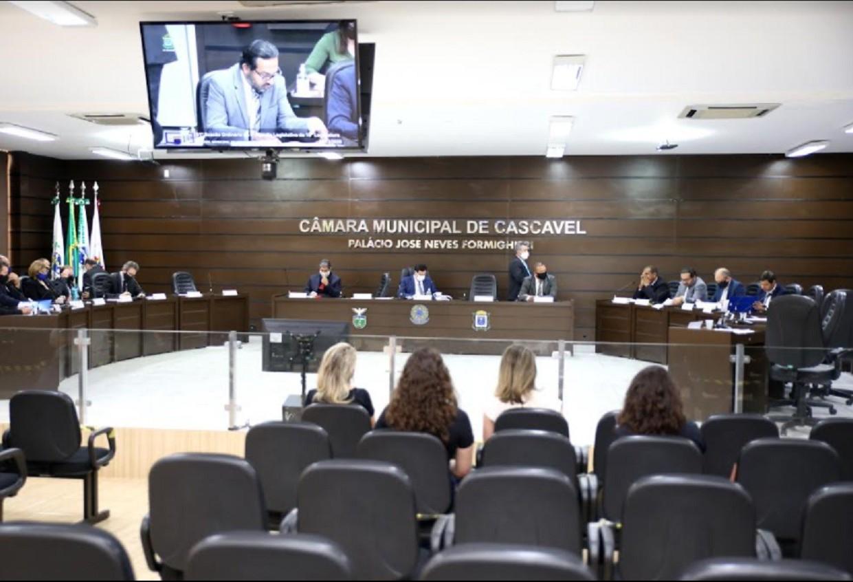 Câmara vota contas da prefeitura referentes à 2017  nesta terça-feira