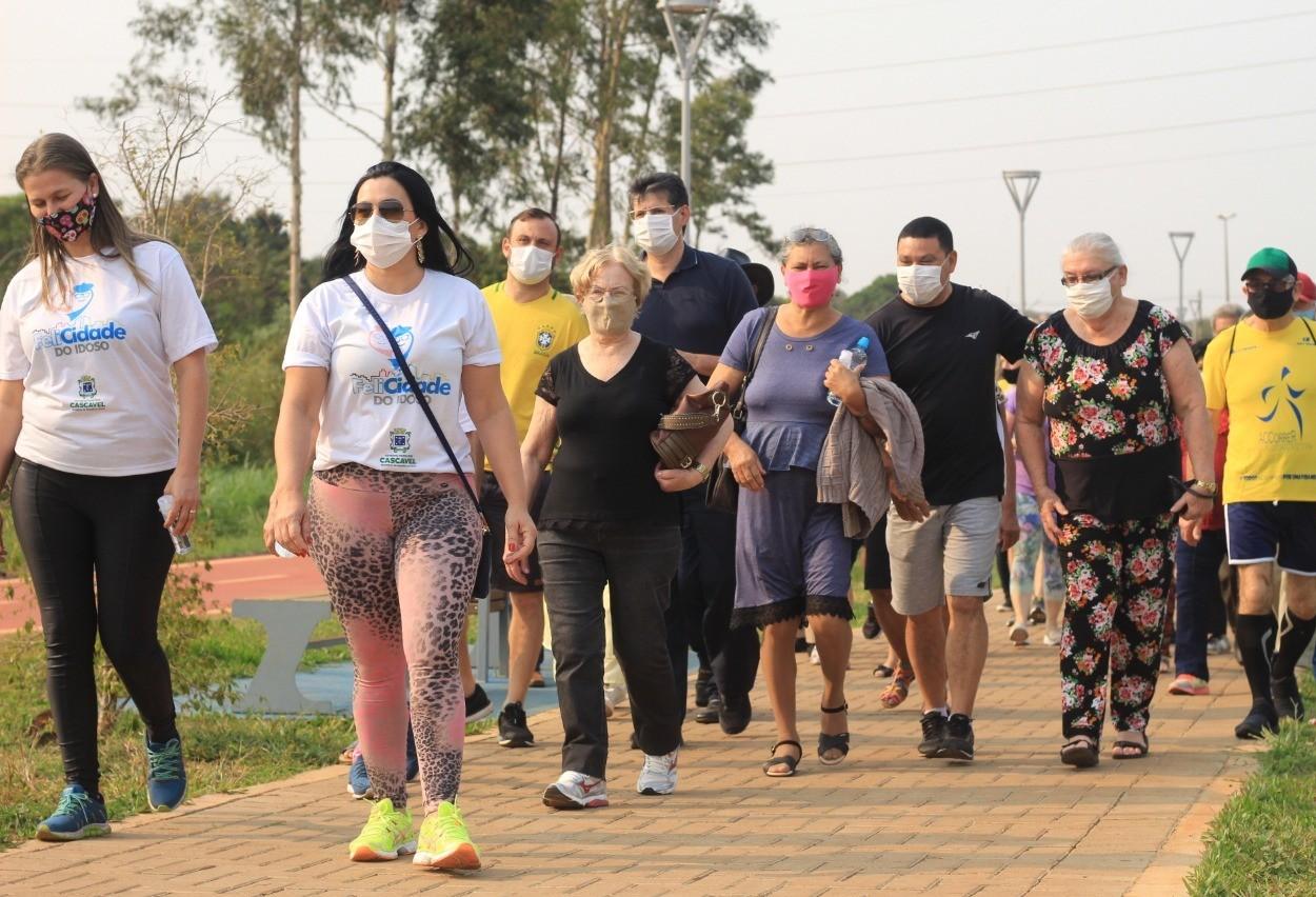 Caminhada em Cascavel celebra a Independência do Brasil