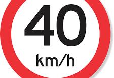 Trecho é sinalizado com velocidade máxima de 40 Km/h e divide opiniões