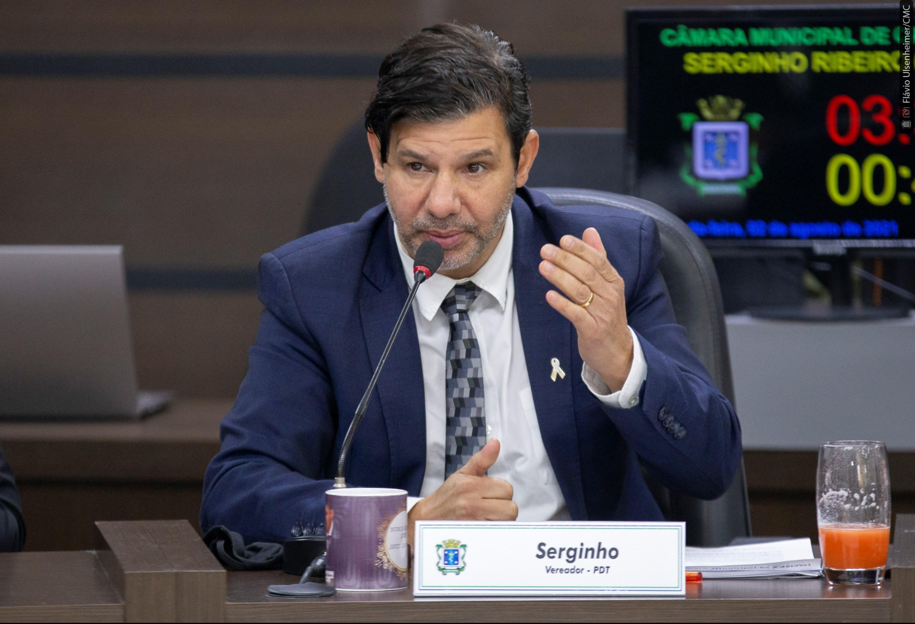 Serginho Ribeiro inicia rodada de reuniões para debater abertura ampliada do comércio