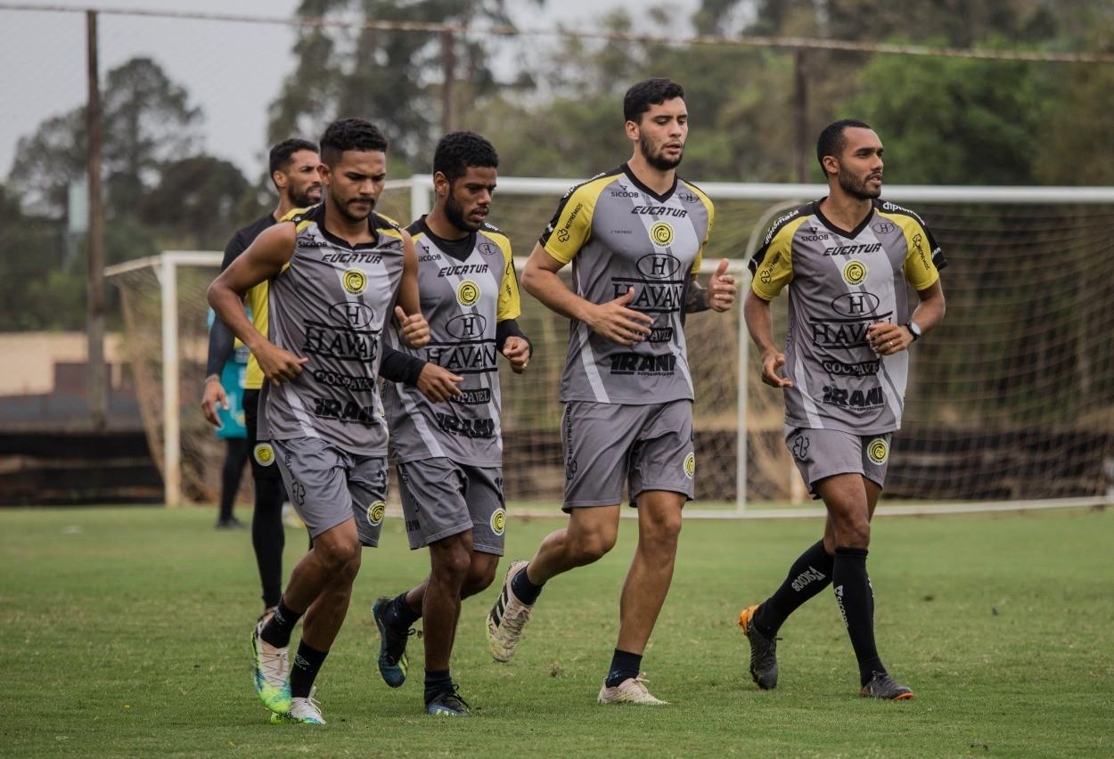 FC Cascavel já está pronto para enfrentar a Cabofriense neste domingo