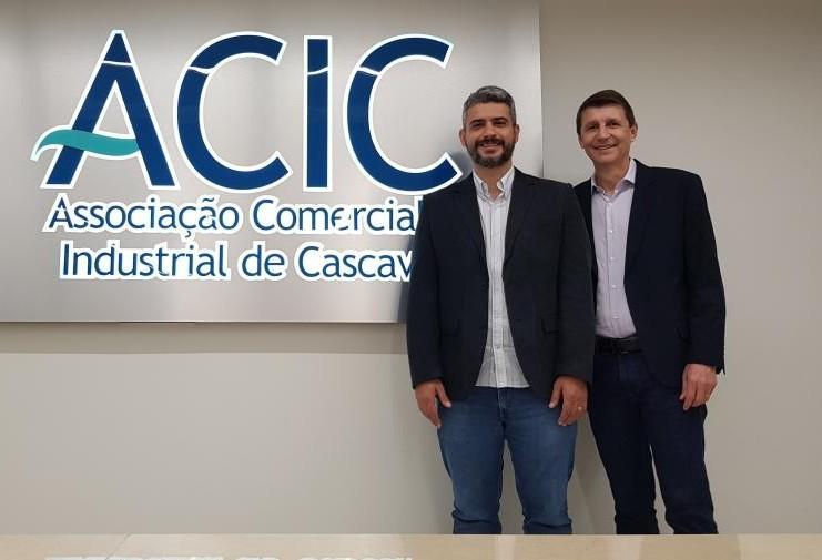 Michel Lopes assume a presidência da ACIC