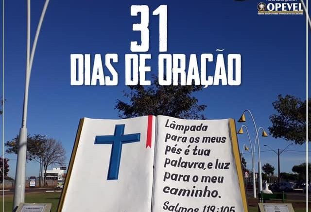 Evangélicos e católicos se reúnem para orar por Cascavel
