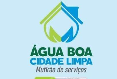 Continuam os trabalhos do Mutirão Água - Boa Cidade Limpa