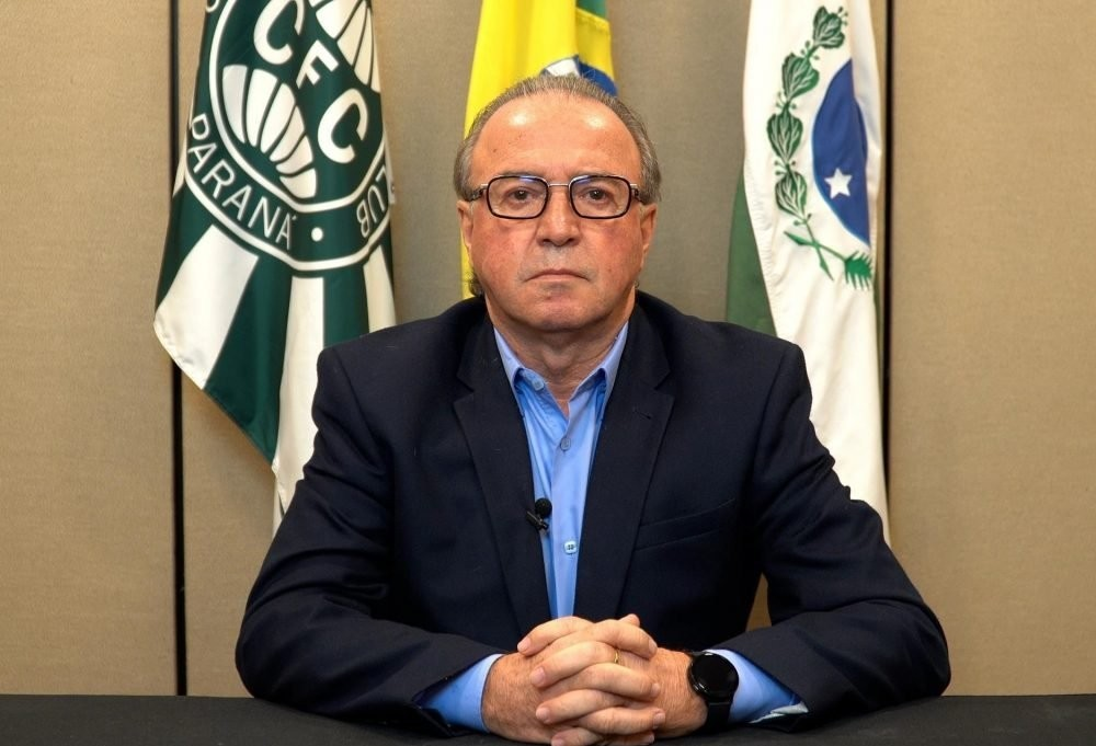 Presidente do Coritiba, Renato Follador morre de complicações da Covid-19