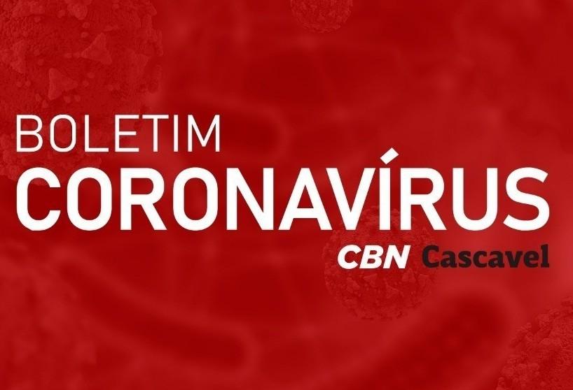 Cascavel tem 294 casos ativos de Covid-19
