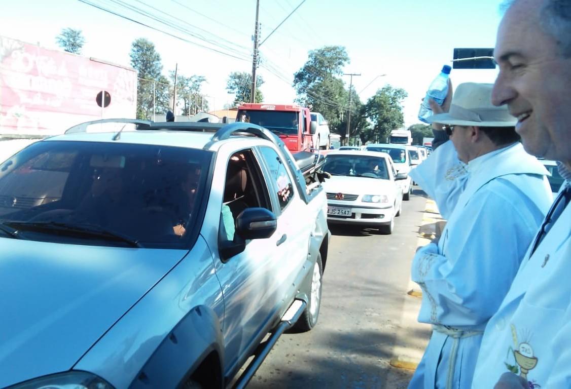 Motoristas são abençoados na 60ª  Festa de São Cristóvão