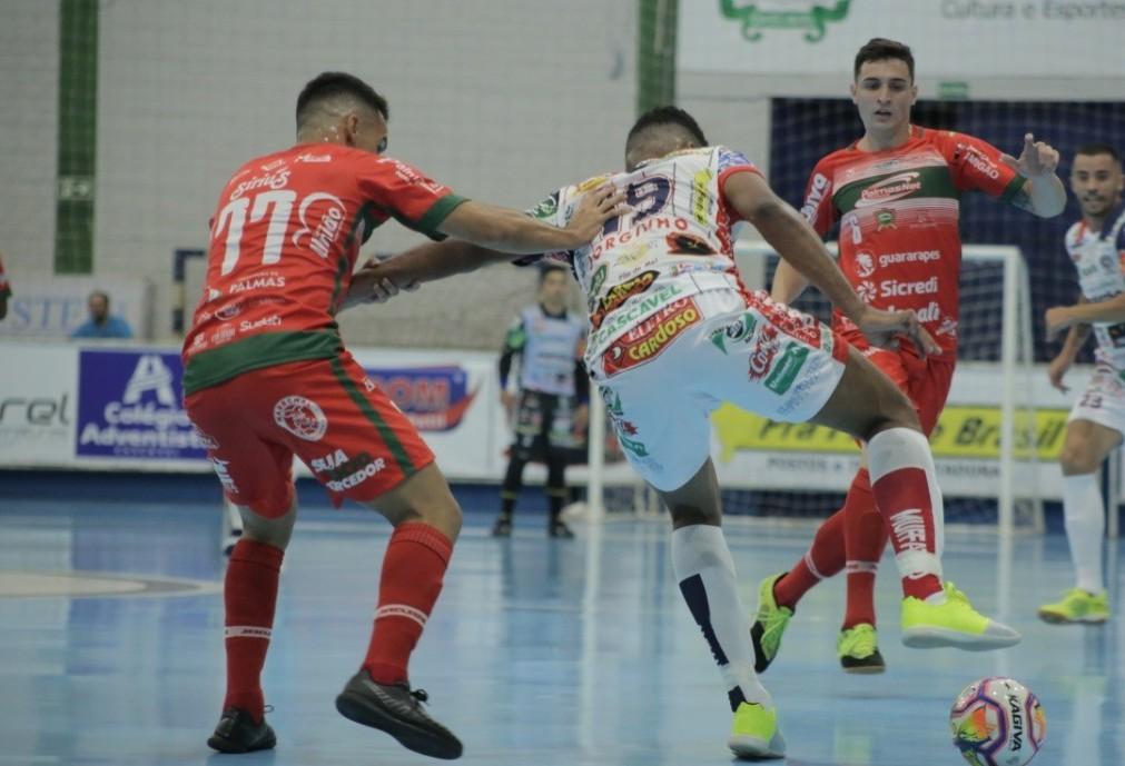 Cascavel Futsal estreia na Série Ouro com vitória diante do Palmas