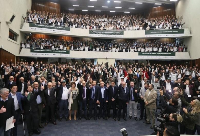 Assembleia discute avanços do Paraná para obter status de área livre de aftosa sem vacinação