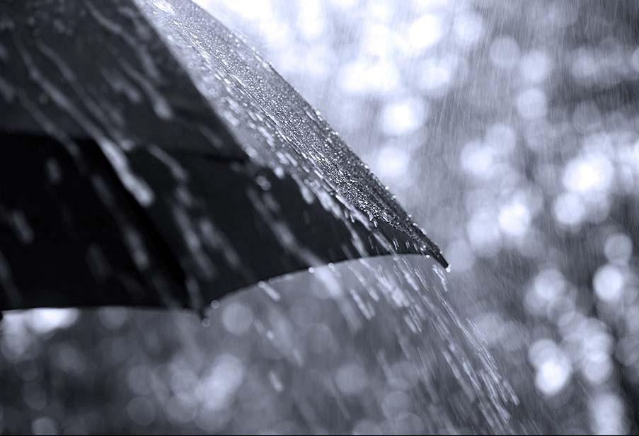 Sexta com chuva em Cascavel