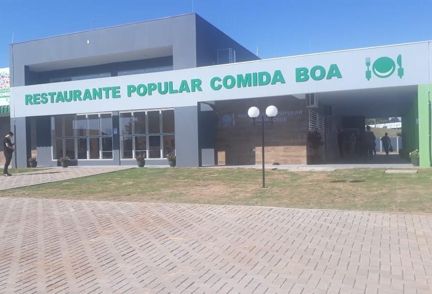 Inaugurado 3º restaurante popular de Cascavel