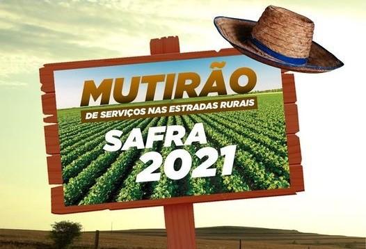 Prefeito anuncia Mutirão da Safra para escoamento de produção agrícola