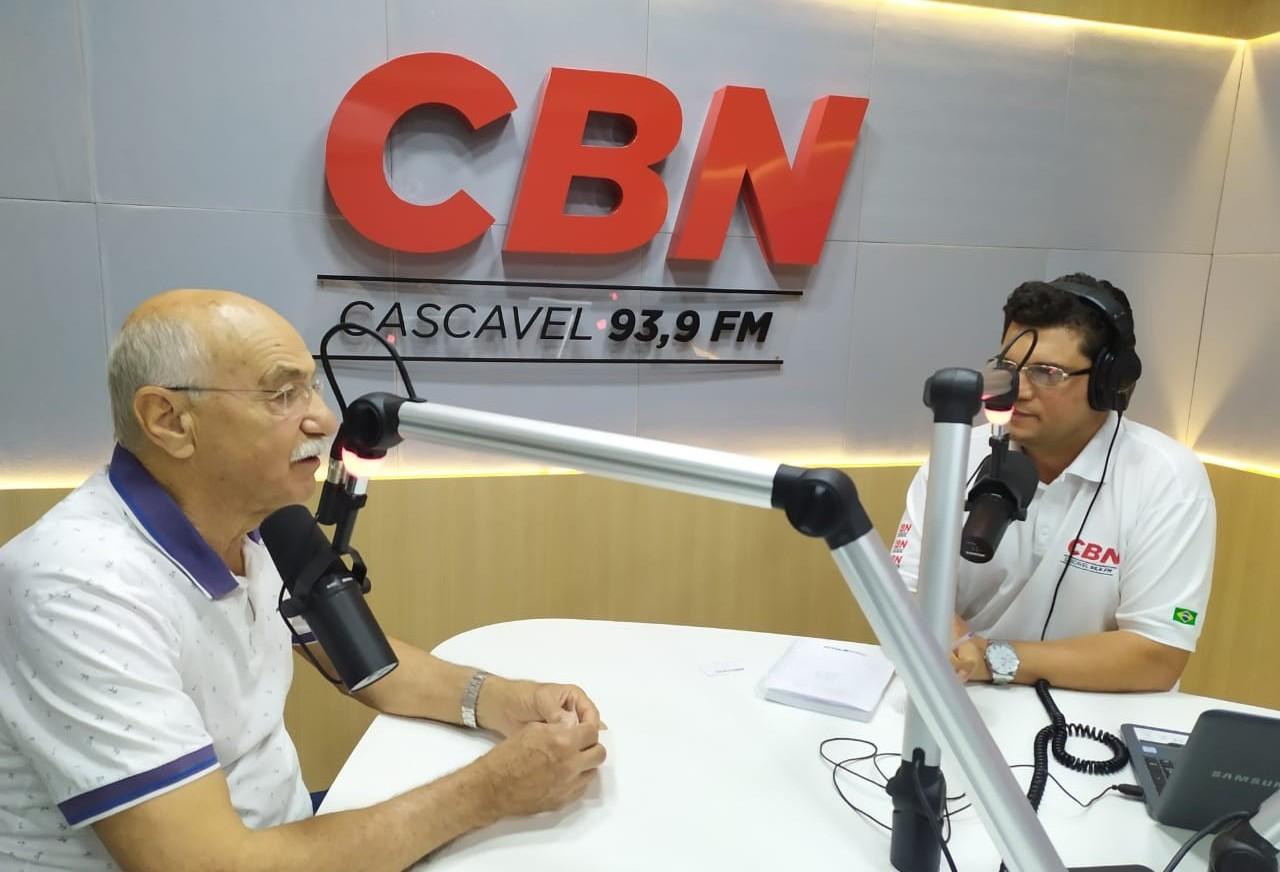 Ex-prefeito Tolentino fala dos feitos e da Cascavel do futuro