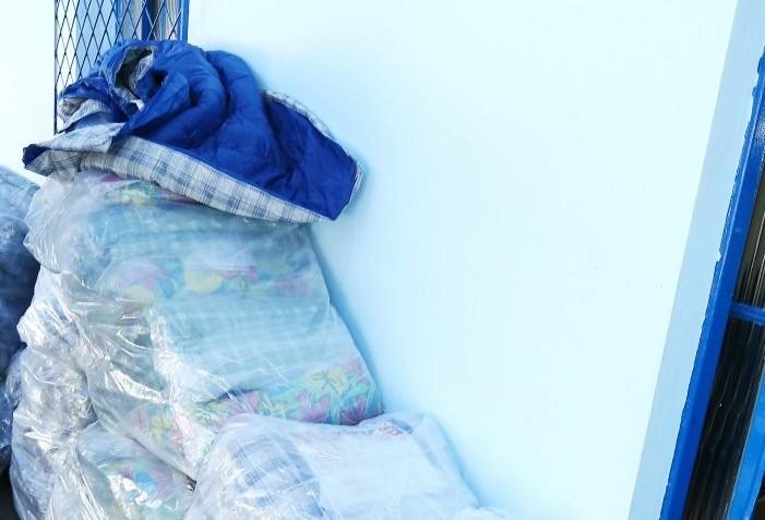 Provopar recebe doação de 50 cobertores