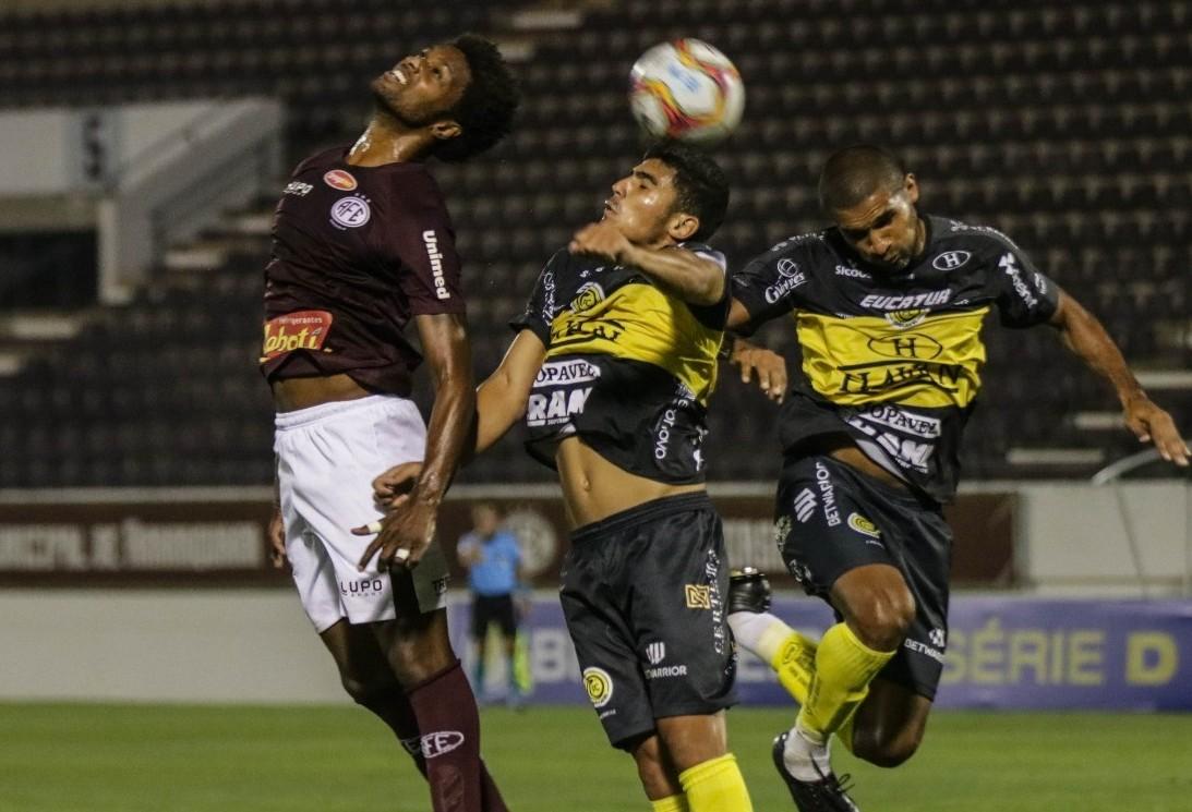 FC Cascavel empata com a Ferroviária em Araraquara