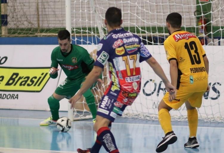 Cascavel Futsal empata com o Sorocaba e ainda sonha com às semifinais