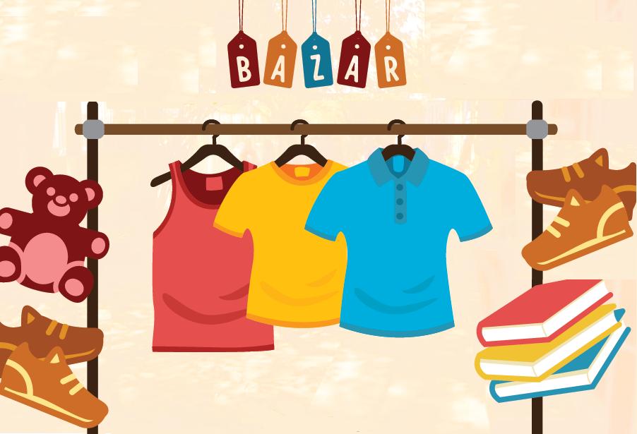 APAE promove bazar