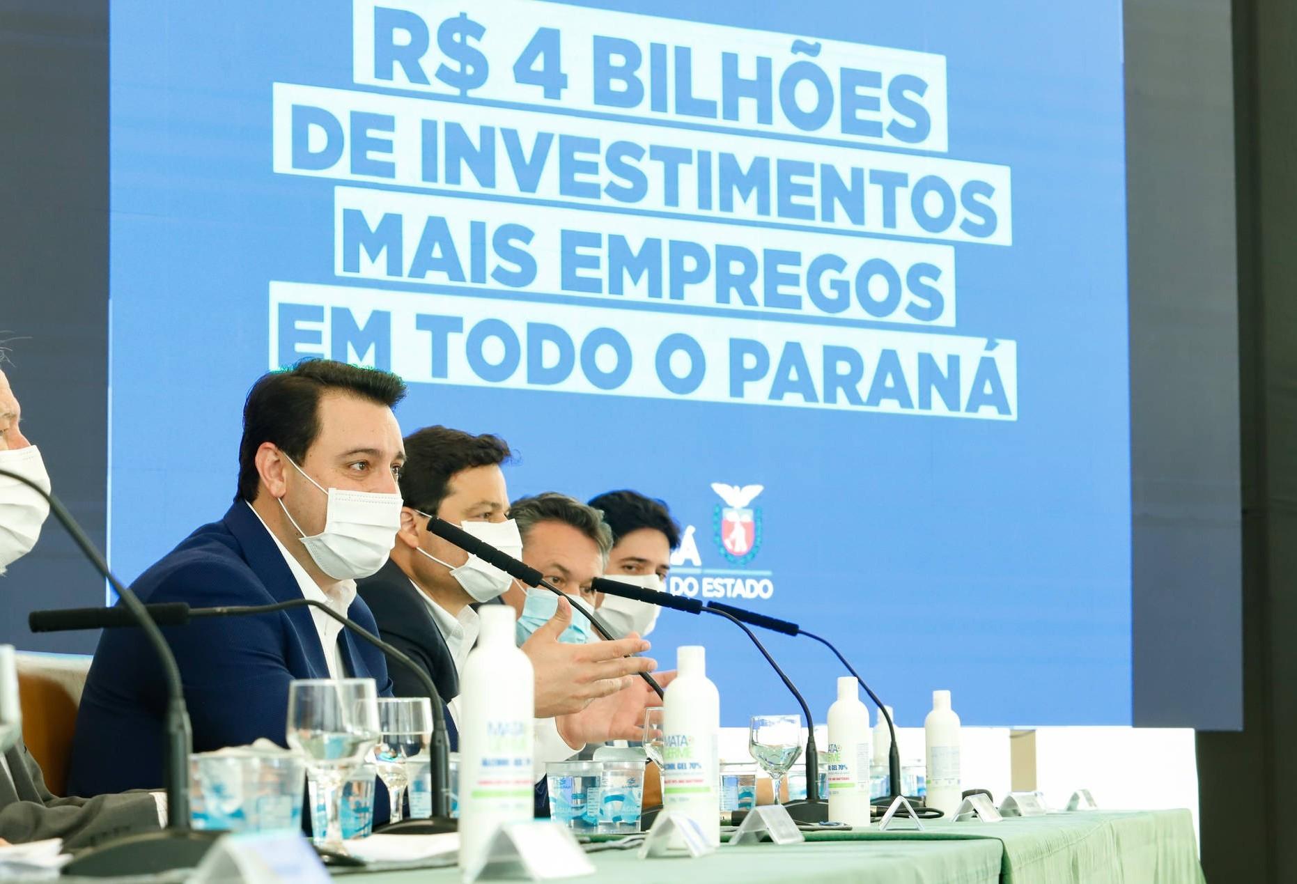 Governador anuncia programa de R$ 4 bilhões em obras de infraestrutura