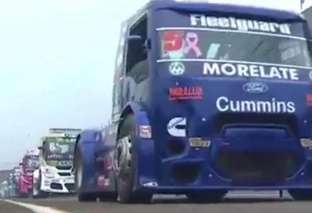 André Marques larga na frente na Copa Truck