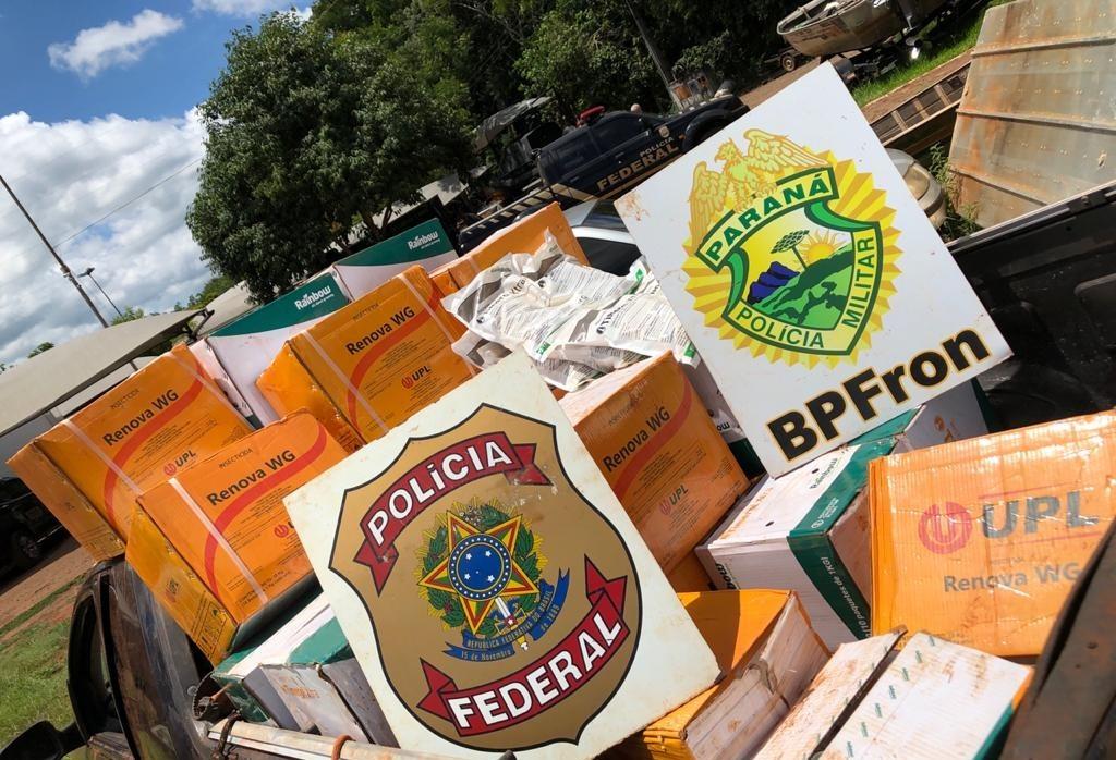 Polícia retira de circulação mais de R$ 190 mil em agrotóxicos
