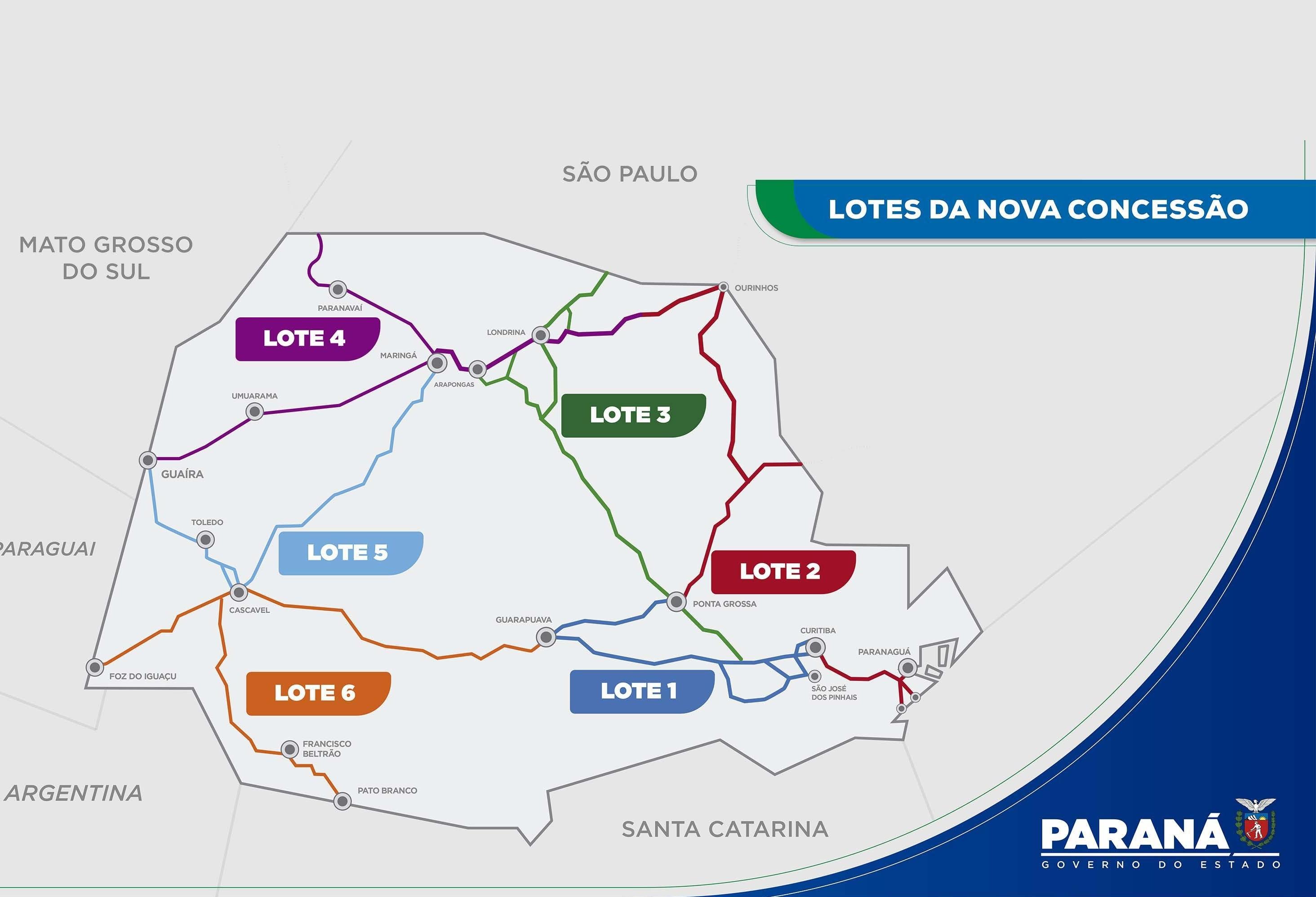 Entenda como vai funcionar o novo modelo de concessão de rodovias no Paraná