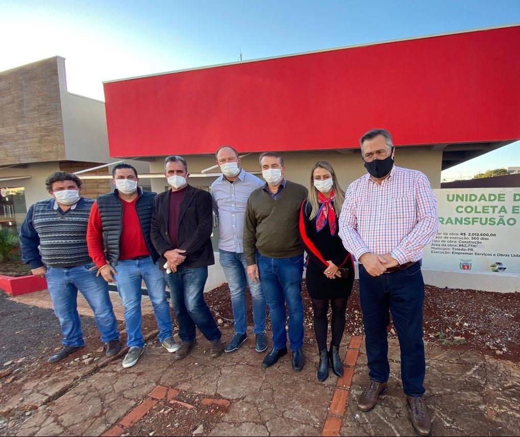 Nova unidade de coleta de sangue de Toledo vai melhorar logística e armazenamento